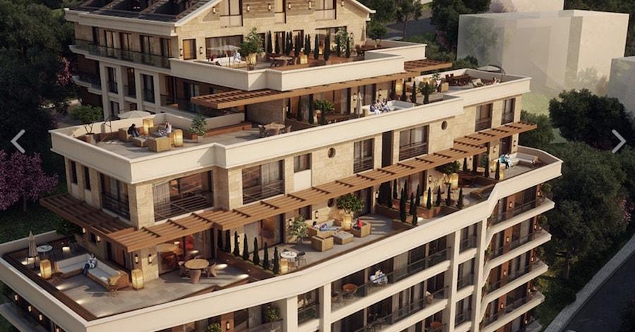 Bomonti apartments
