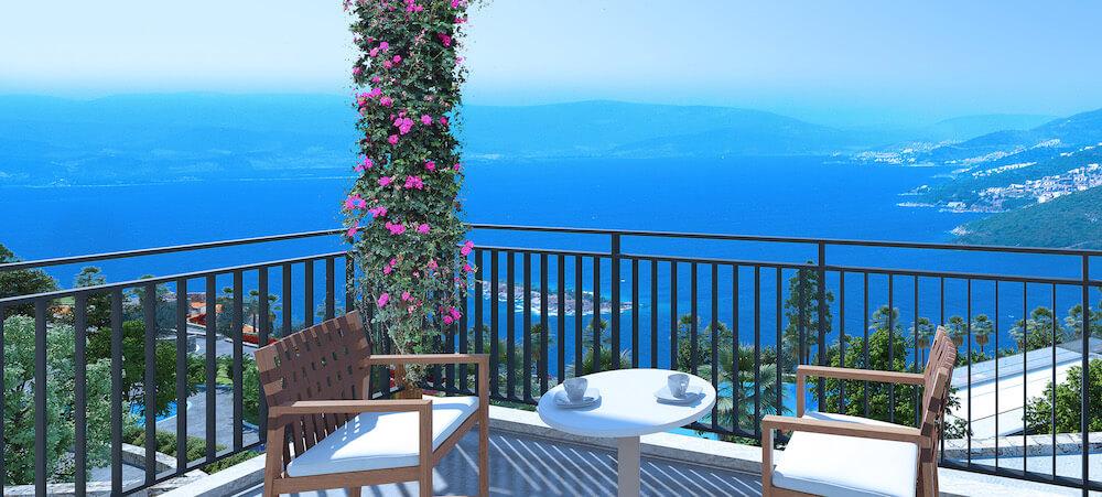 Sea view Adabuku property
