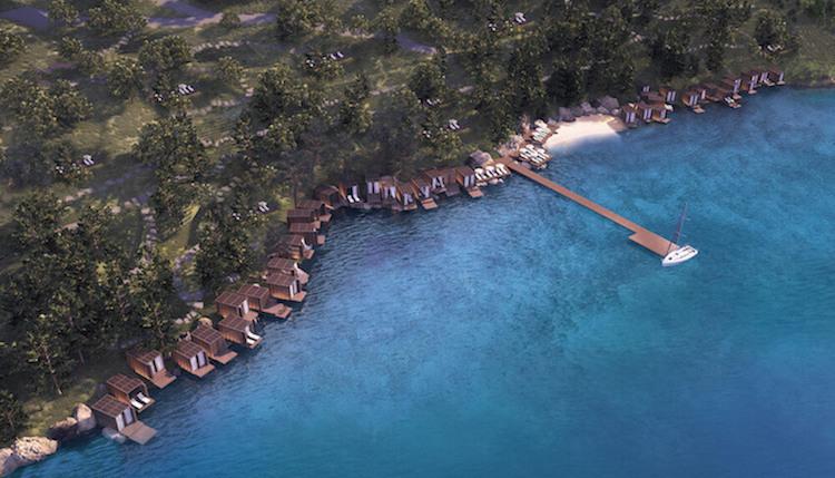 Private beach Turkbuku