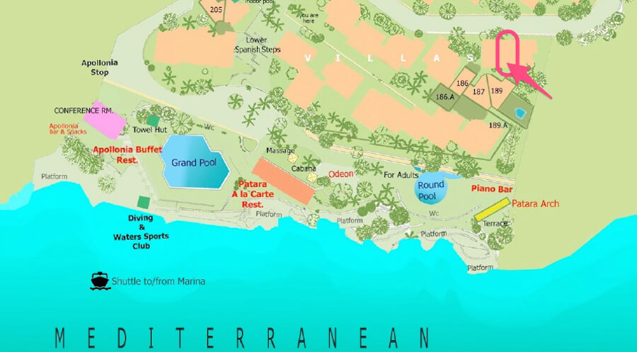 帕塔拉平面图
