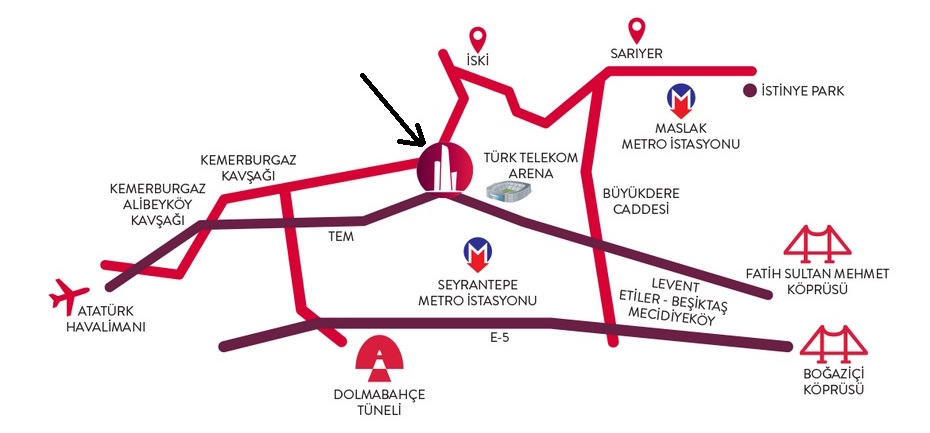 Location in Istanbul
