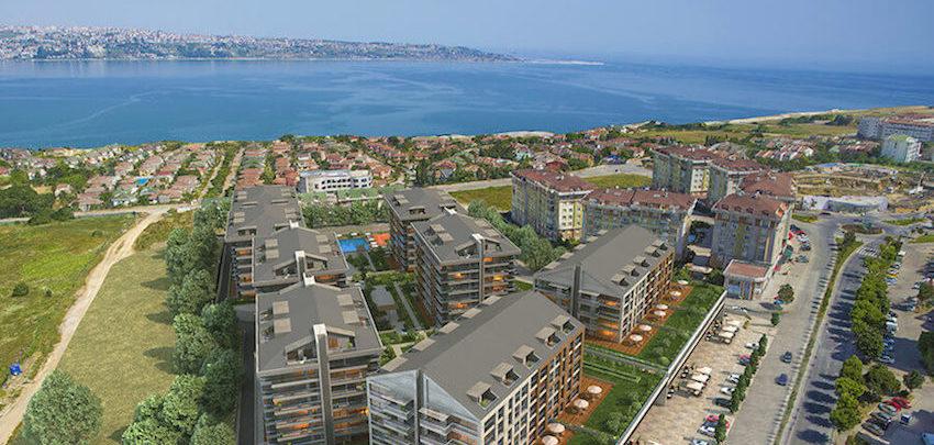 Недвижимость в Стамбуле с видом на море