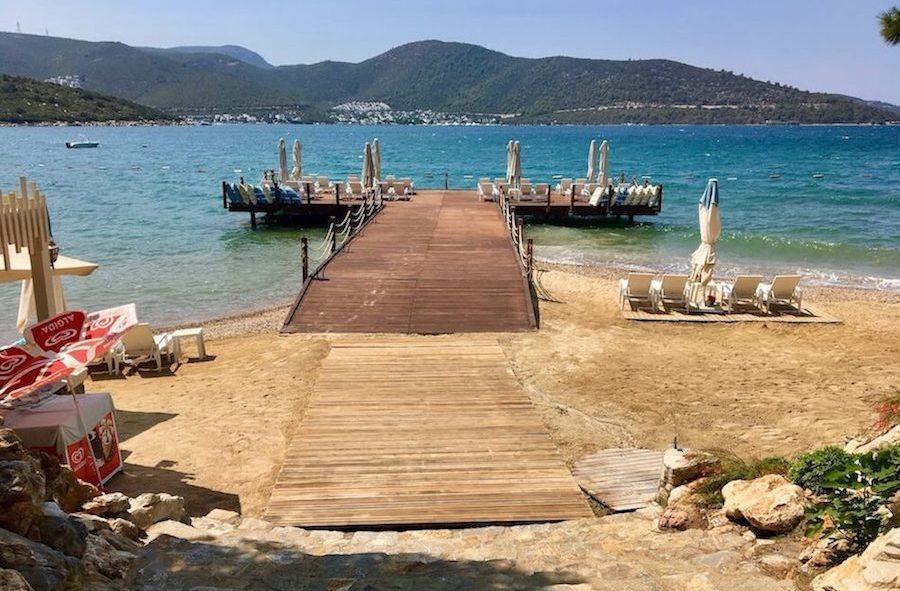 托尔巴的私人海滩
