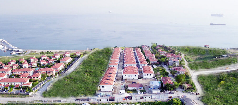 Seafront homes