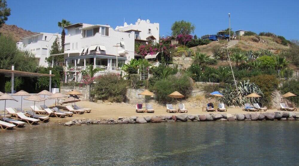 Beachfront Bodrum property