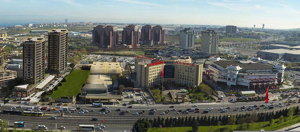 Местонахождение в Стамбуле