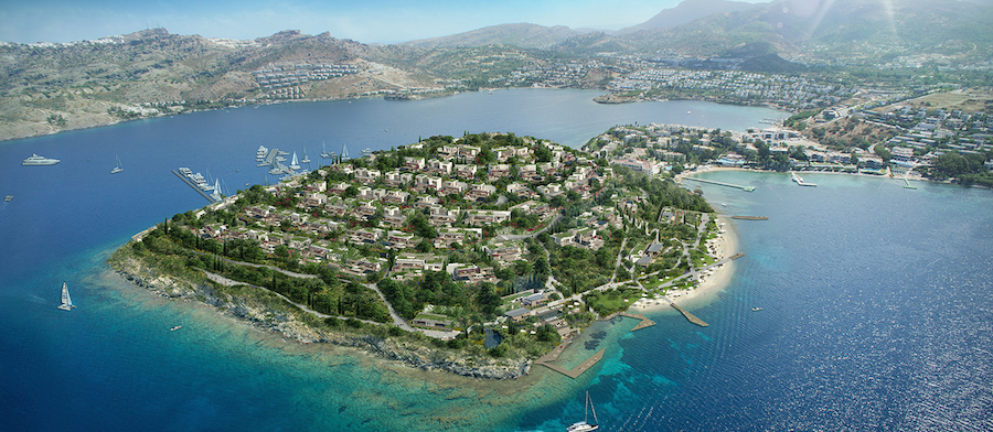 Location in Bodrum