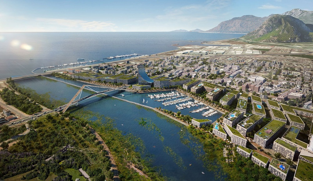 The Konyaalti Coastline and Bogacay Marina Projects