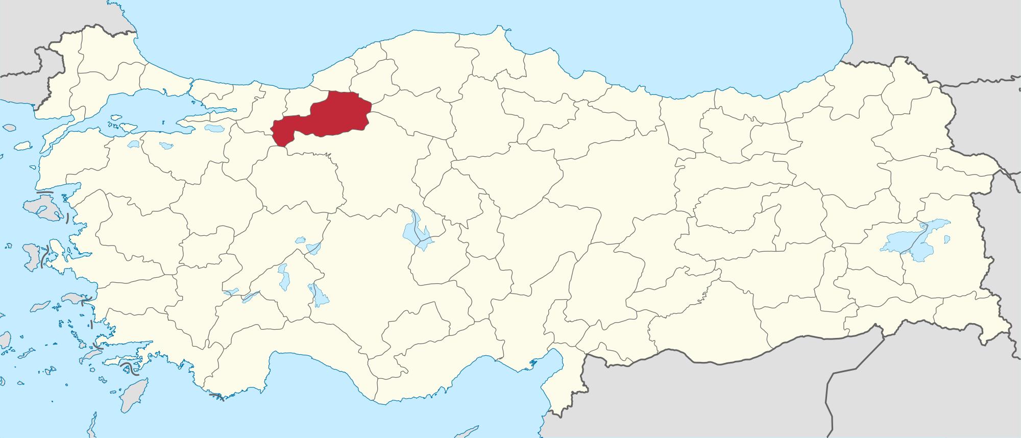 Bolu map