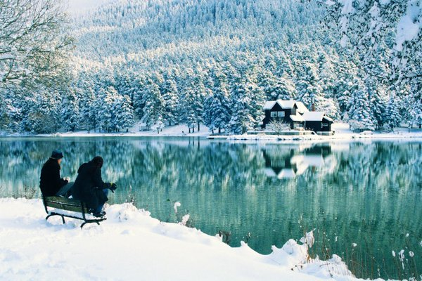 Winter in Bolu, Turkey