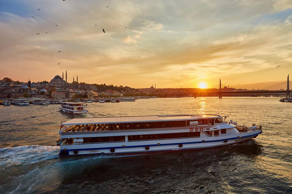 伊斯坦布尔博斯普鲁斯海峡