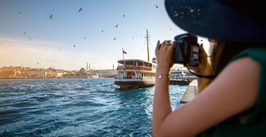 博斯普鲁斯海峡,伊斯坦布尔,土耳其