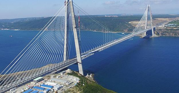 Canakkale 1915 is set to be the world's longest suspension bridge