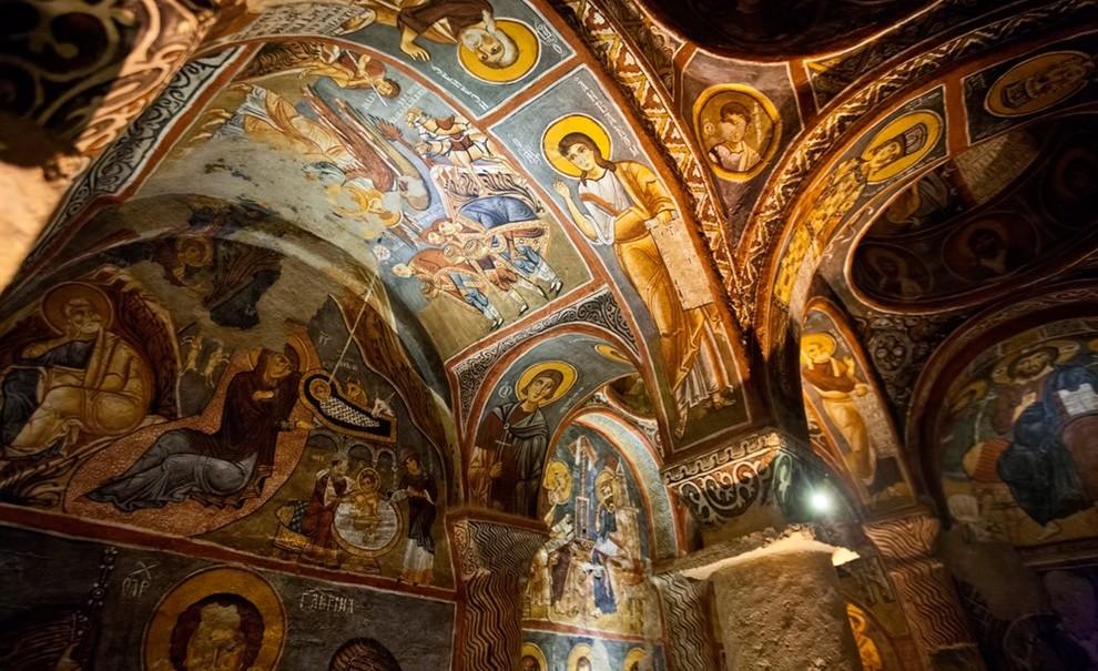 卡帕多奇亚教堂壁画