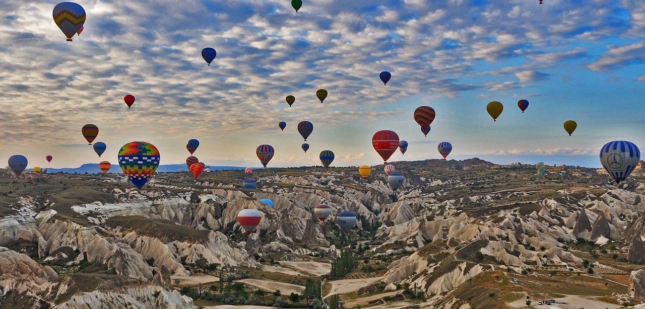 Cappadocia balloons Turkey