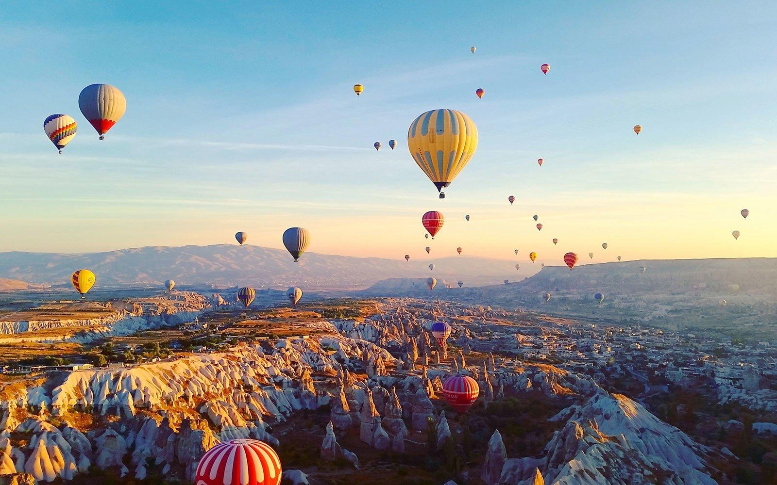 卡帕多奇亚在土耳其