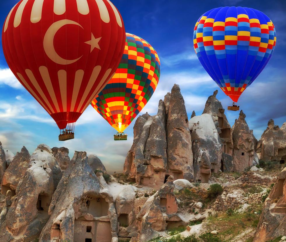 Central Anatolia in Turkey