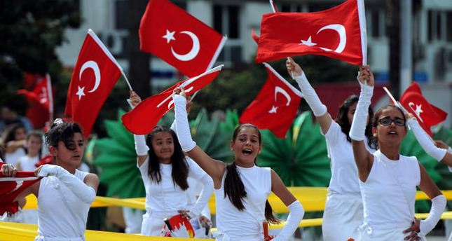 Children's day is a bit of a big deal in Turkey