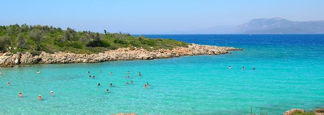 Cleopatra Island, Marmaris, Turkey