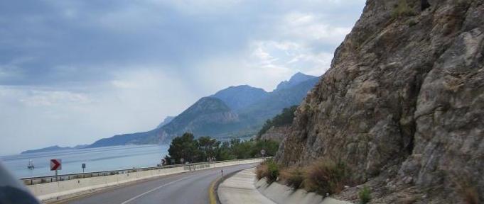D400 road Antalya