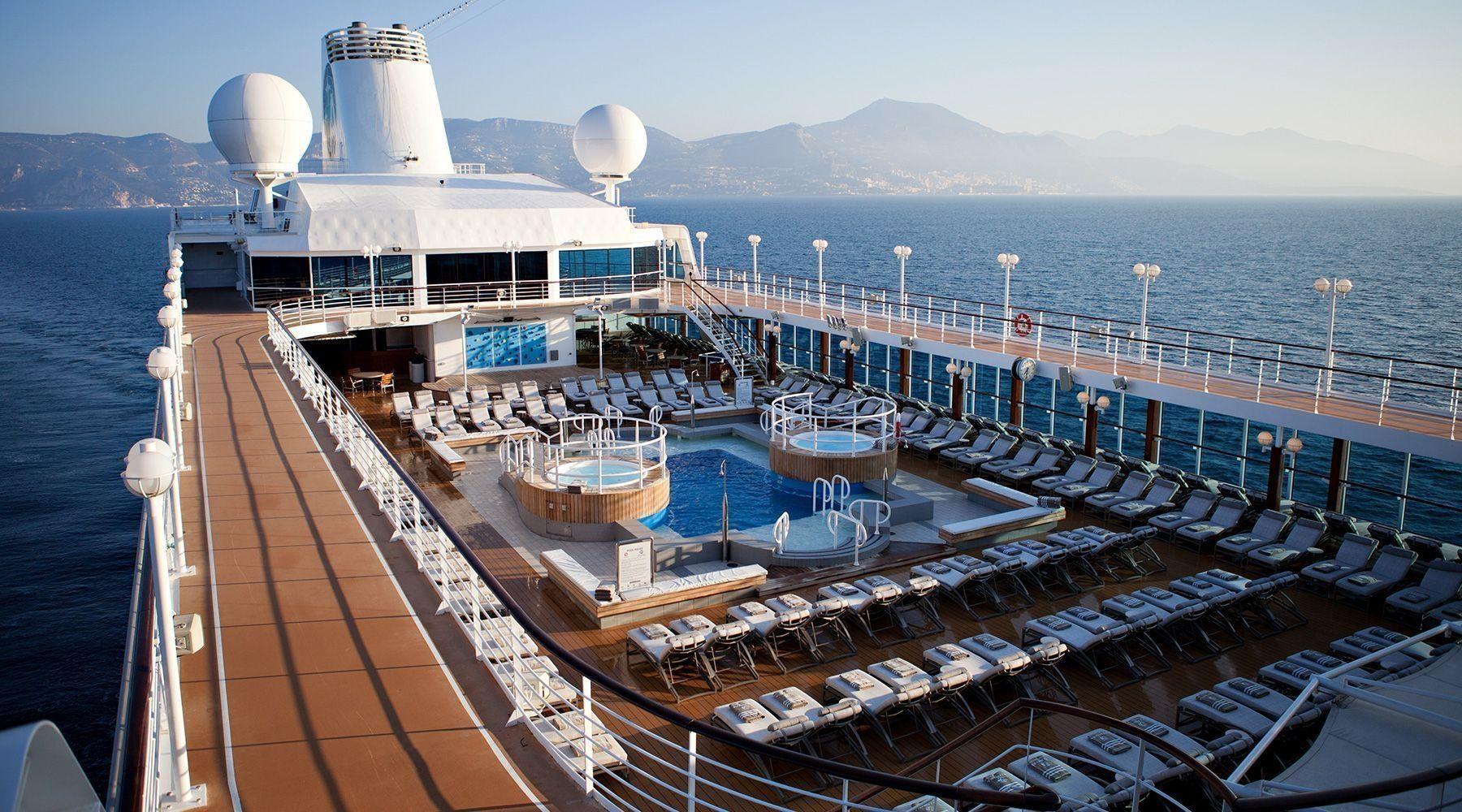 Luxury ship Azamara Journey, part of Royal Caribbean Cruises