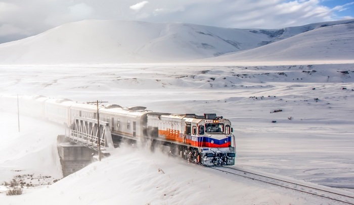 Eastern Express train Turkey