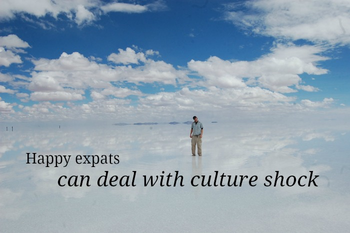 happy expats deal with culture shock