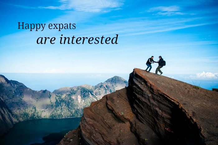 happy expats are interested