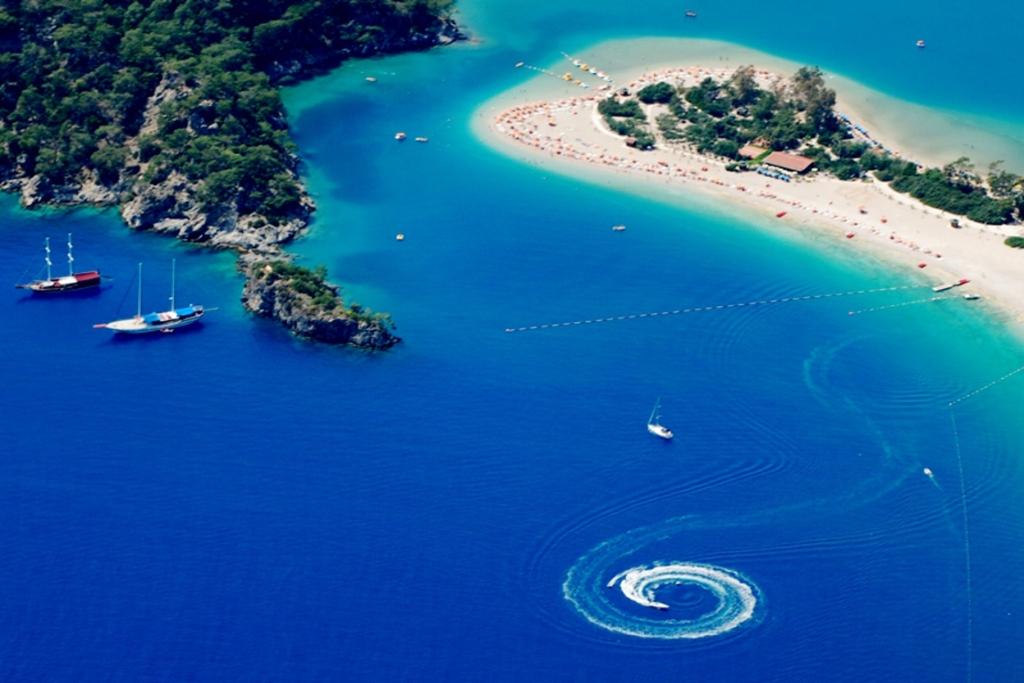 Beautiful coastal regions of Fethiye