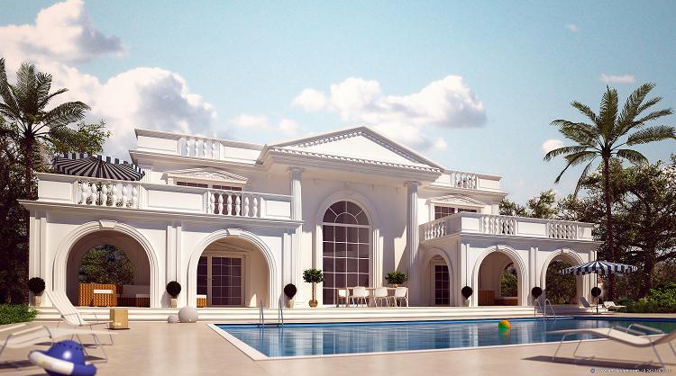 White House in Fethiye