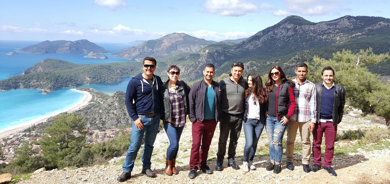 Property Turkey Fethiye team enjoying some winter sun