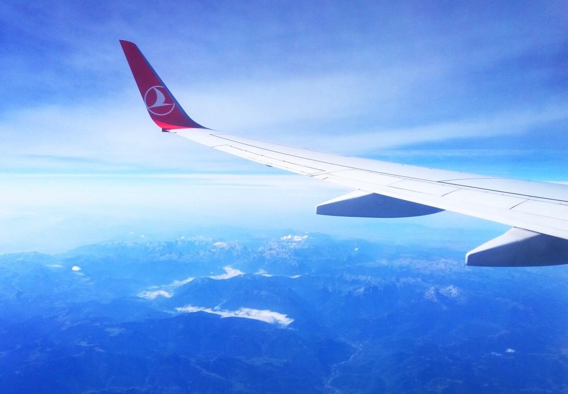 在土耳其飞行