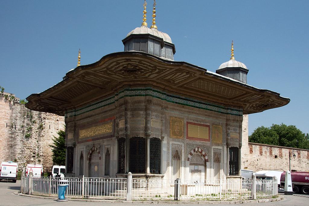 Sultan Ahmed III fountain, Istanbul