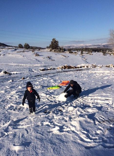 Snow in Fethiye