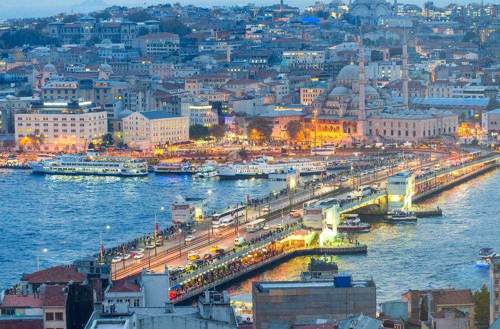 加拉塔大桥伊斯坦布尔