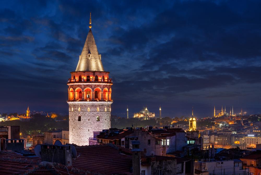 加拉塔高塔伊斯坦布尔