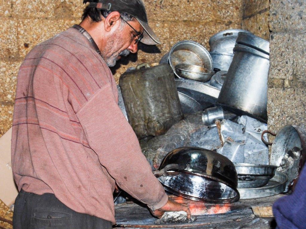 Gaziantep copper bazaar