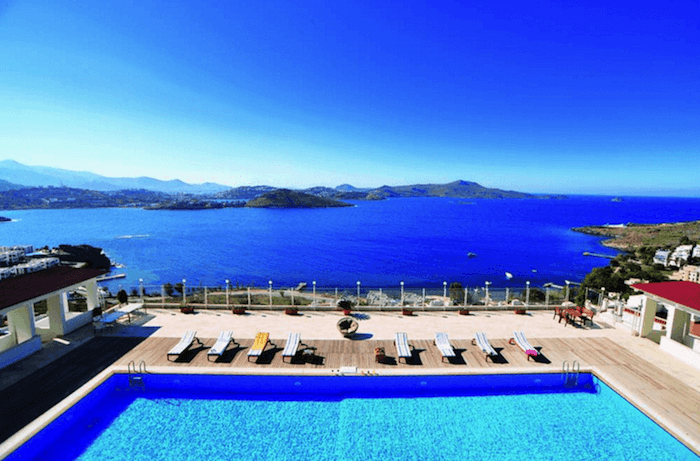 sea view property in Bodrum