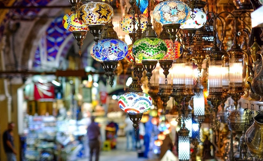 Grand Bazaar in Turkey
