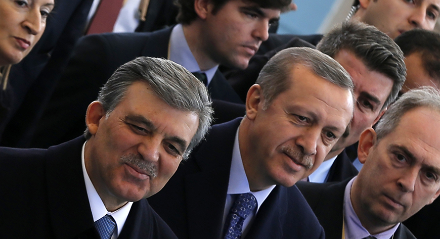 Abdullah Gul and Recep Erdogan