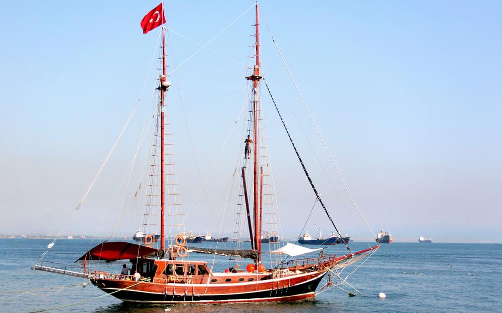 在土耳其航行