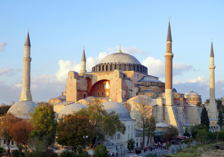 伊斯坦布尔圣索菲亚大教堂