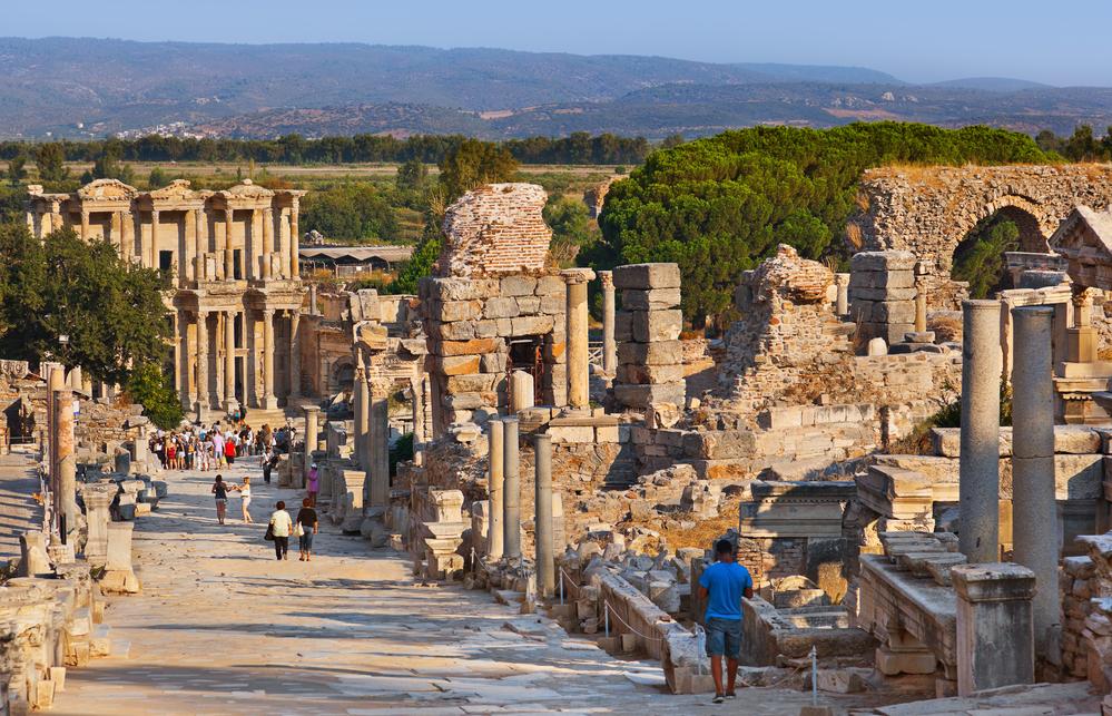 Historical sites in Turkey