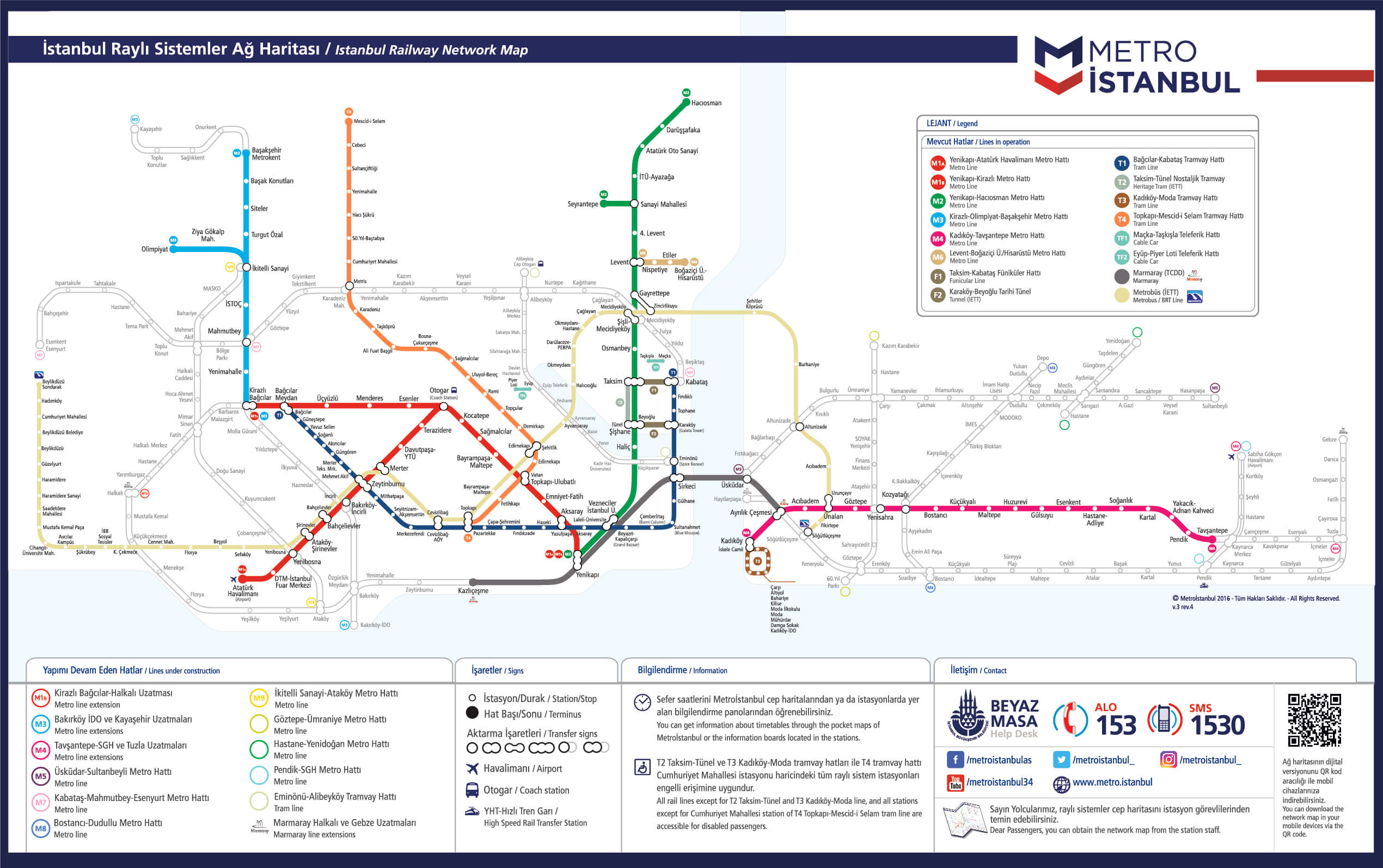 Izmir Subway Map.How To Use The Istanbul Metro A Complete Guide Property Turkey