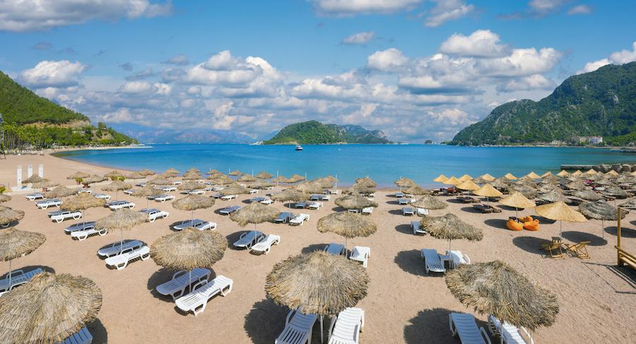 Icmeler Beach Turkey