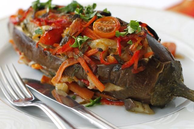 Imam bayildi, Turkish food