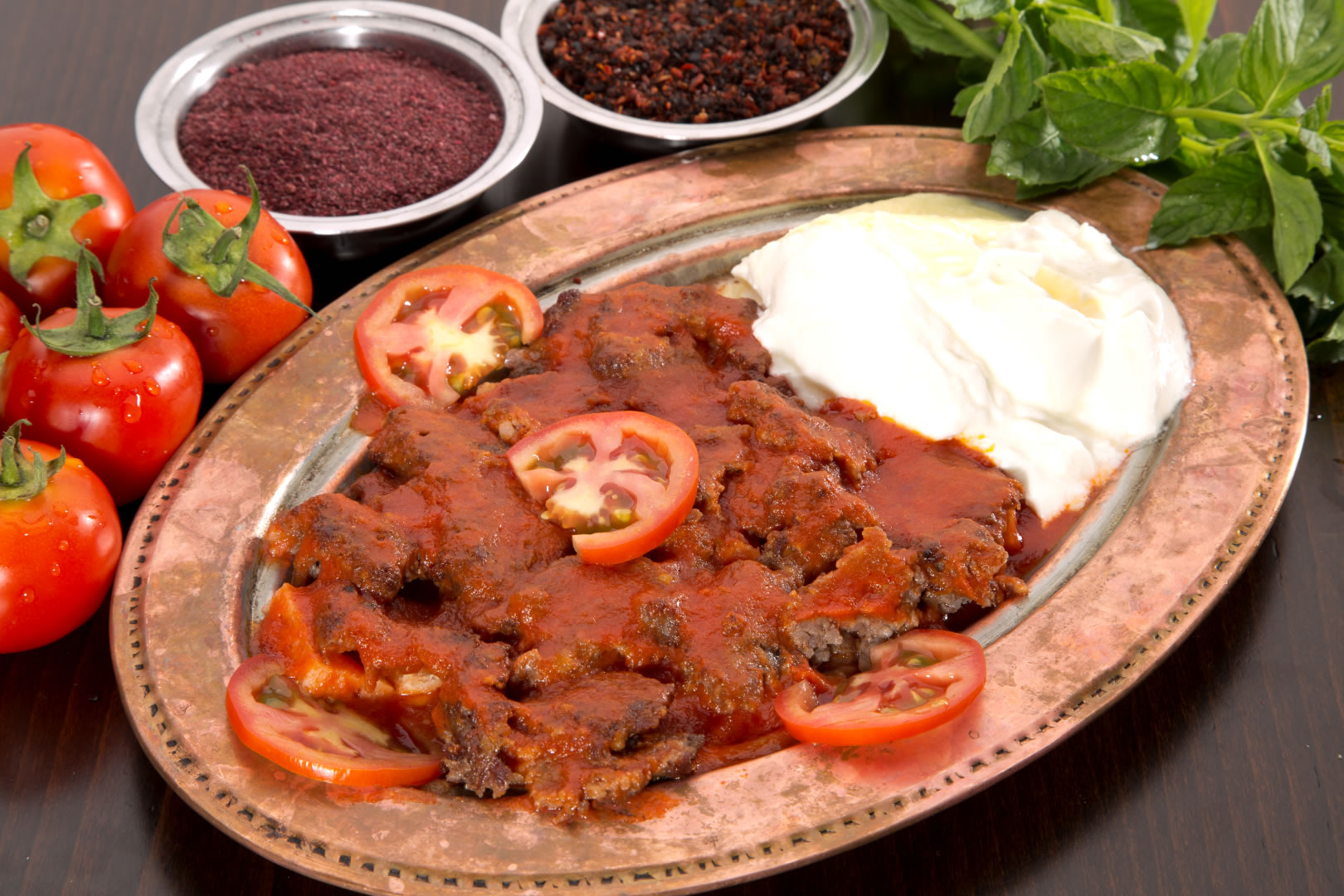 Iskender kebab, Turkish food