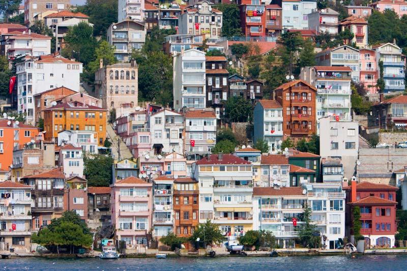 Bosphorus mansions, Istanbul