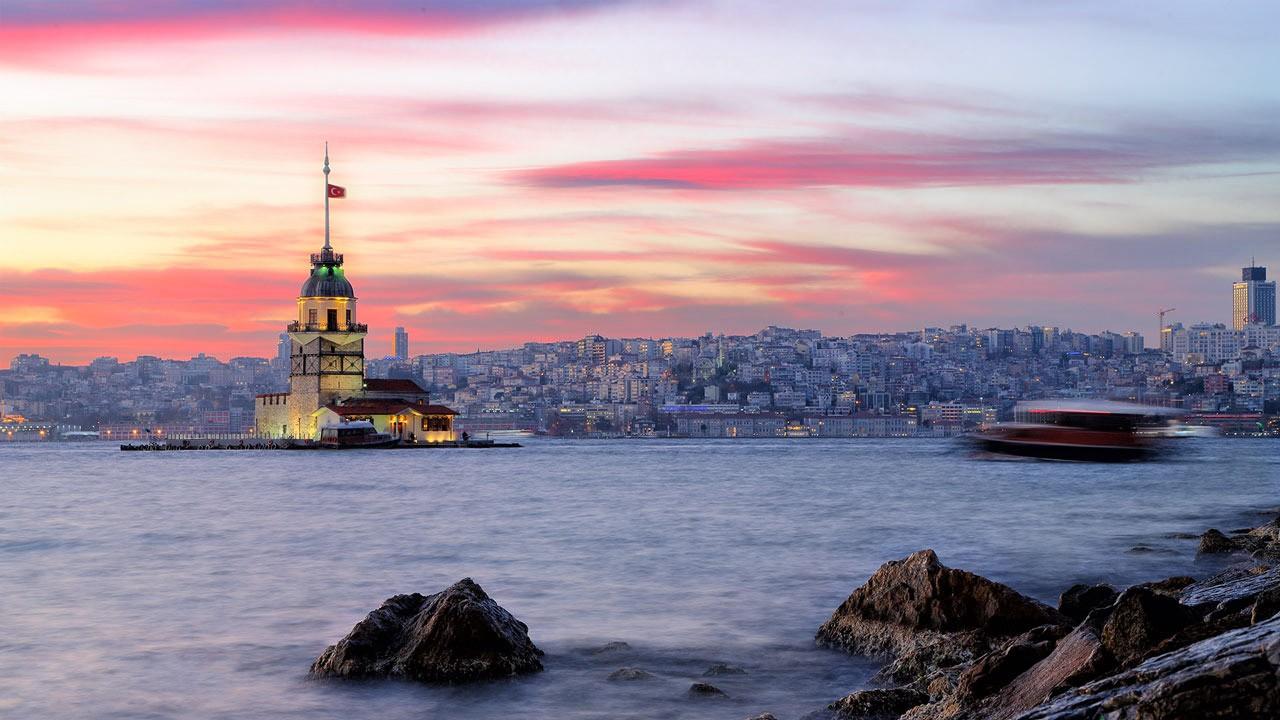 Istanbul Bosporus Sea