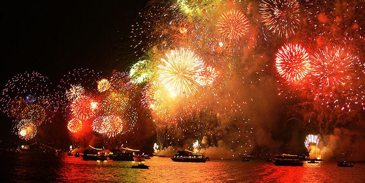 Istanbul fireworks